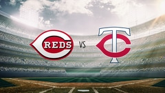 Reds at Twins