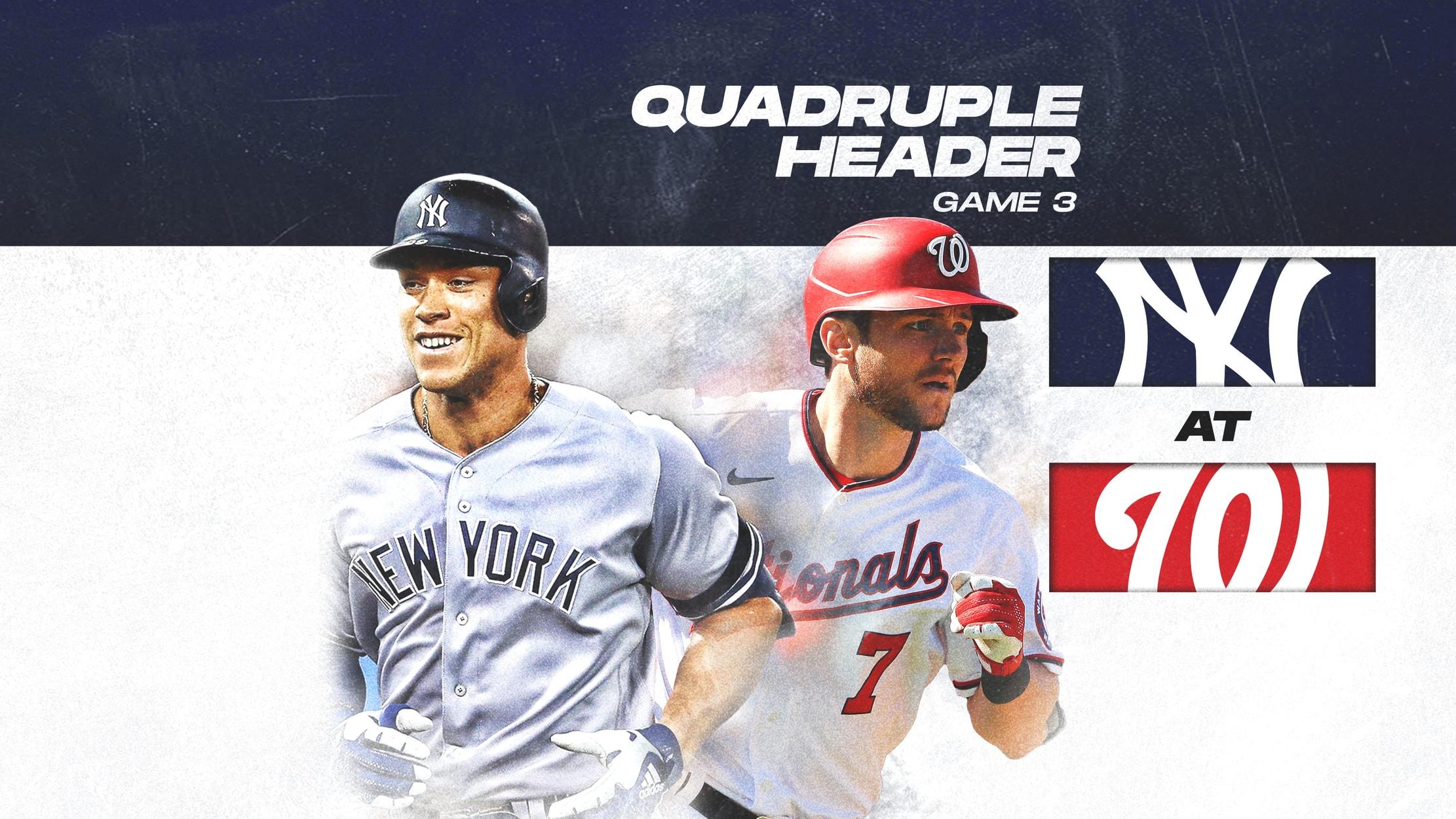Yankees at Nationals
