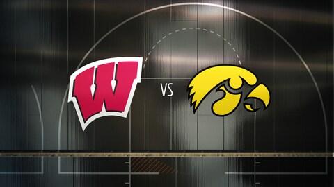 College Basketball - Wisconsin at Iowa 2021-03-07 seriesList