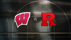 College Basketball - Wisconsin at Rutgers