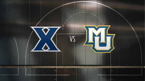 College Basketball - Xavier at Marquette 2021-03-06 seriesList
