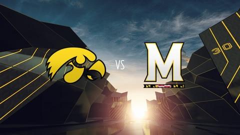 College Football - Iowa at Maryland 2021-10-01 seriesList