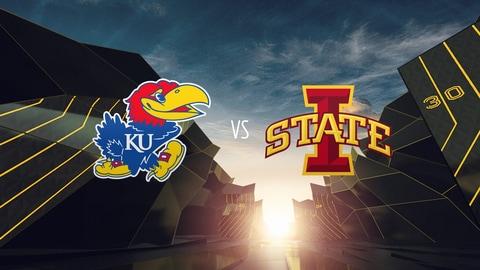 College Football - Kansas at Iowa St. 2021-10-02 seriesList