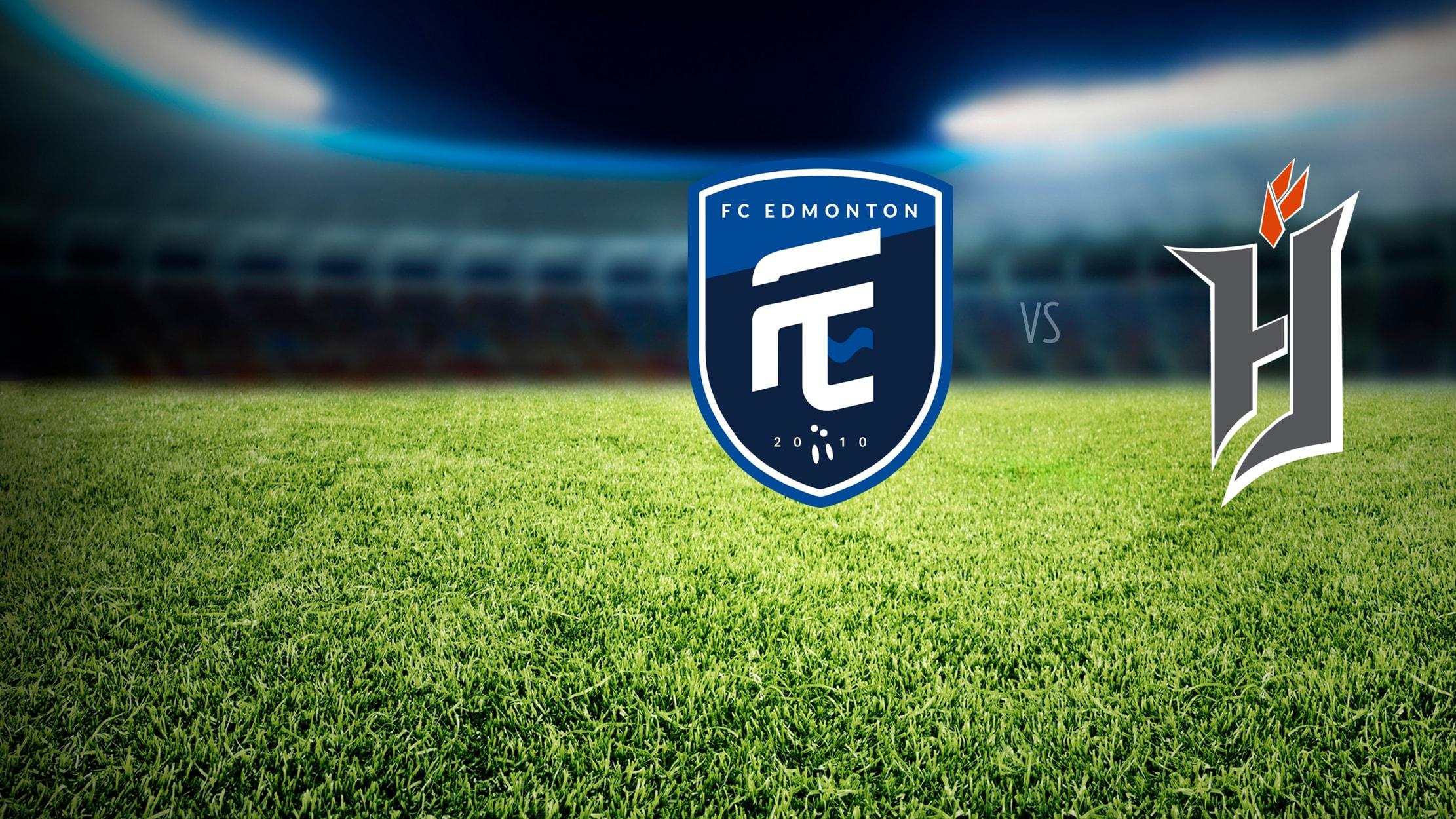 Canadian Premier League Soccer - FC Edmonton at Forge FC seriesDetail