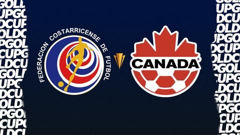 2021 CONCACAF Gold Cup - Costa Rica vs. Canada 2021-07-25 seriesList