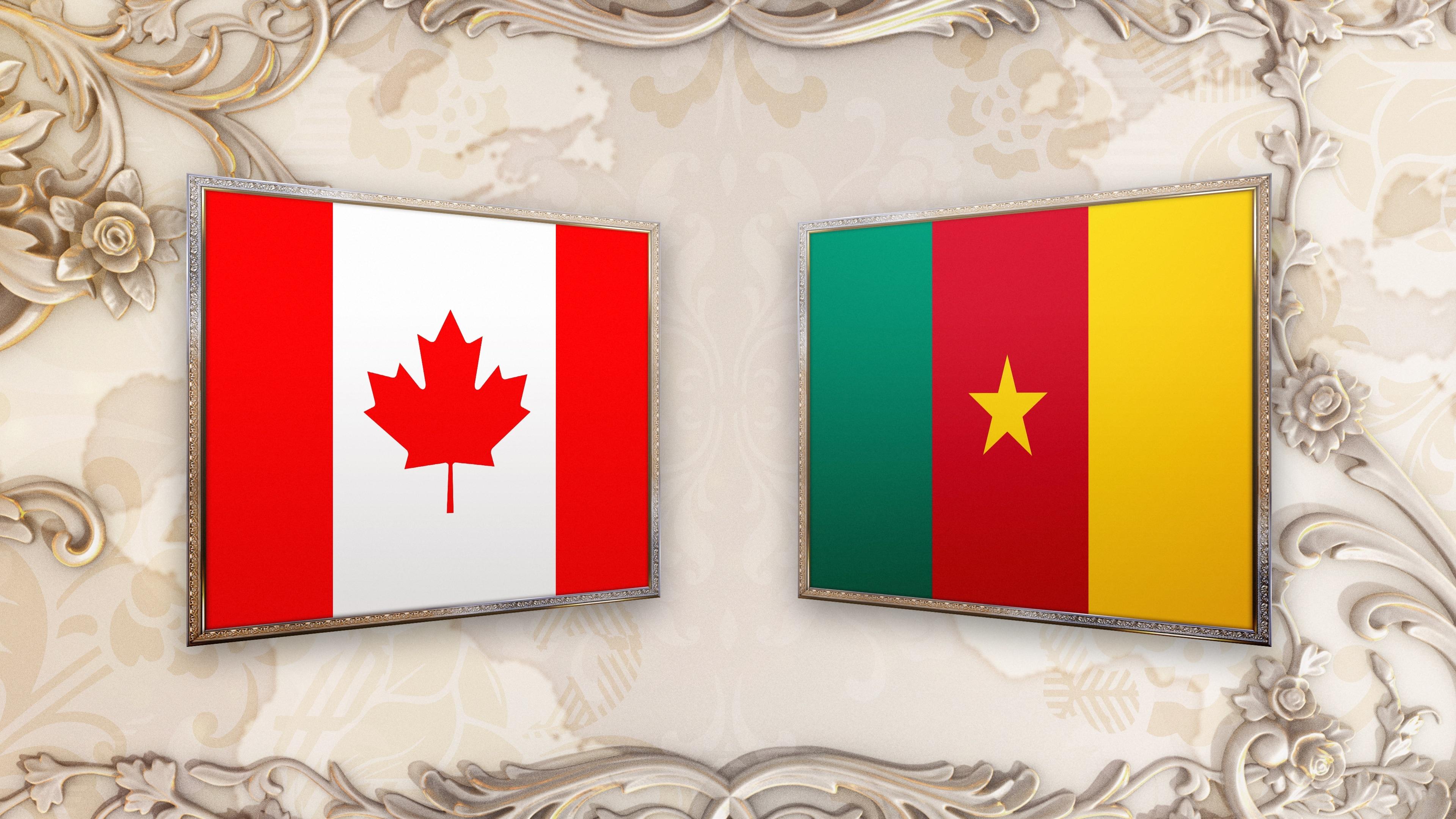 Kết quả hình ảnh cho Canada vs Cameroon