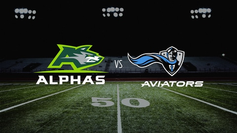 The Spring League Football - Alphas vs. Aviators 2021-05-06 seriesList