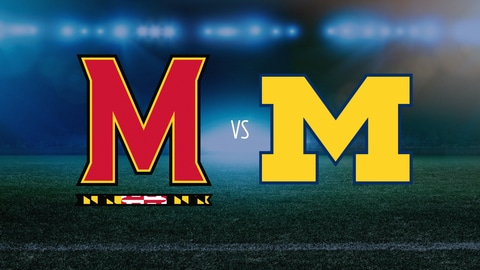 College Lacrosse - B1G Tournament, Semifinal 1: Maryland vs. Michigan 2021-05-06 seriesList
