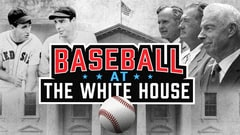 Baseball At The White House