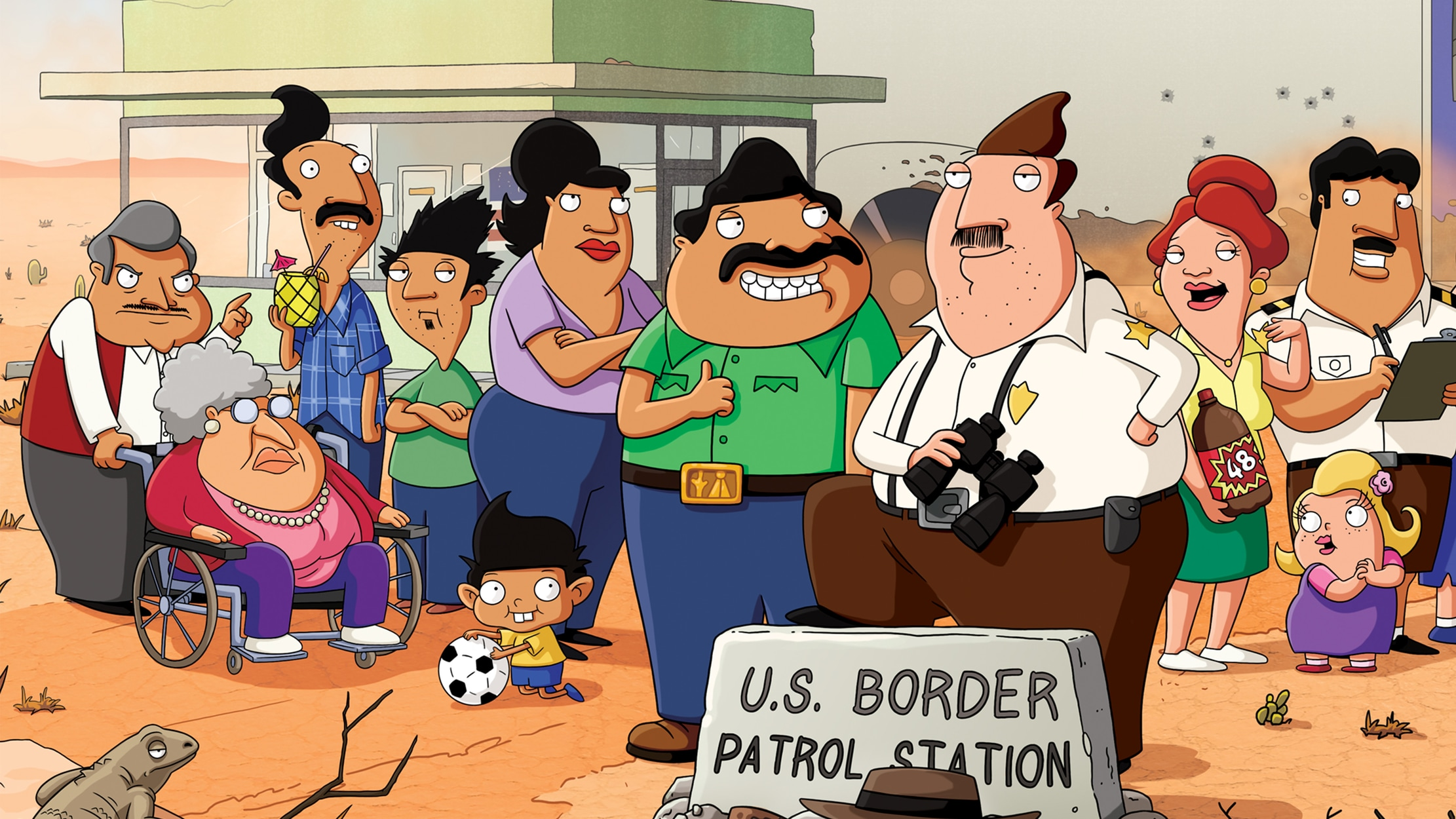 Bordertown seriesDetail