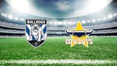 NRL Rugby - Canterbury-Bankstown Bulldogs vs. North Queensland Cowboys