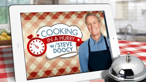 Available Now: Cooking in a Hurry with Steve Doocy