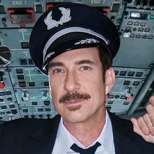 Capt. Dave Pratman Dylan McDermott LA to Vegas