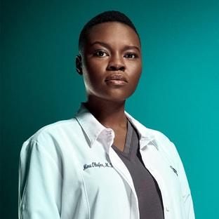 Dr. Mina Okafor Shaunette Renée Wilson The Resident