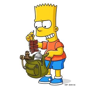 "Bartholomew Jo-Jo ""Bart"" Simpson/Nelson Muntz Nancy Cartwright The Simpsons"