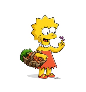 Lisa Marie Simpson Yeardley Smith The Simpsons