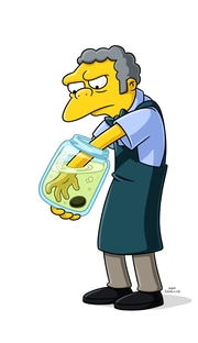 Moe Szyslak/Apu Nahasapeemapetilon/Chief Clancy Wiggum/Dr. Nick Riviera Hank Azaria The Simpsons