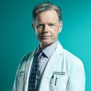 Dr. Randolph Bell Bruce Greenwood The Resident