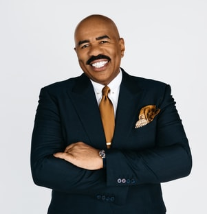 Host Steve Harvey New Year's Eve With Steve Harvey: Live From Times Square
