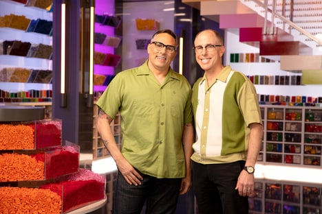 Contestants Flynn & Richard LEGO Masters