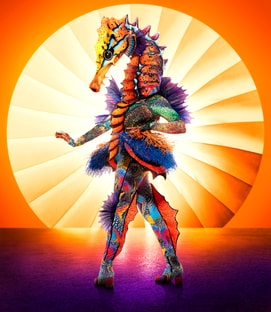 Costume Seahorse The Masked Singer