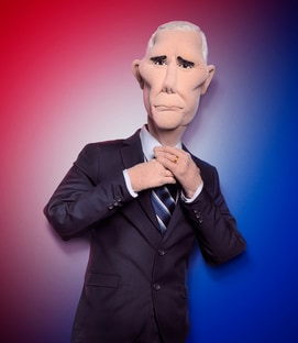 Mike Pence The Mike Pence Puppet Let's Be Real