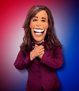 Kamala Harris The Kamala Harris Puppet Let's Be Real