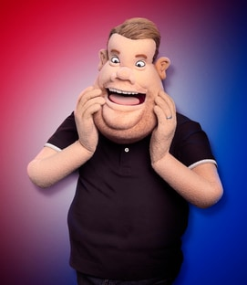 James Corden The James Corden Puppet Let's Be Real
