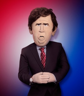 Tucker Carlson The Tucker Carlson Puppet Let's Be Real