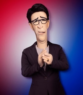 Rachel Maddow The Rachel Maddow Puppet Let's Be Real