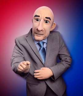 Matt Lauer The Matt Lauer Puppet Let's Be Real
