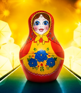 Mask Russian Doll The Masked Singer