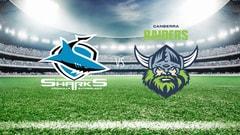NRL Rugby - Cronulla-Sutherland Sharks vs. Canberra Raiders