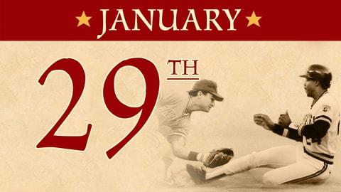 Jan. 29: MLB Hall of Fame