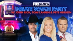 Fox Nation's Debate Watch Party w/ John Rich, Tomi Lahren & Pete Hegseth