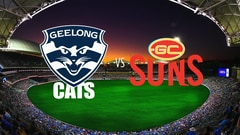 AFL Premiership Football - Geelong Cats vs. Gold Coast Suns