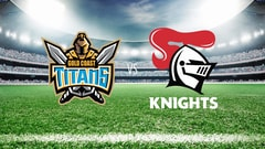 NRL Rugby - Gold Coast Titans vs. Newcastle Knights