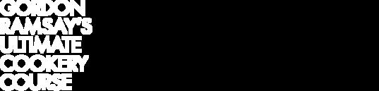 Gordon Ramsay's Ultimate Cookery Course logo