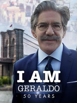 I Am Geraldo 50 Years dcg-mark-poster