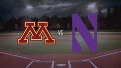 College Softball - Minnesota at Northwestern