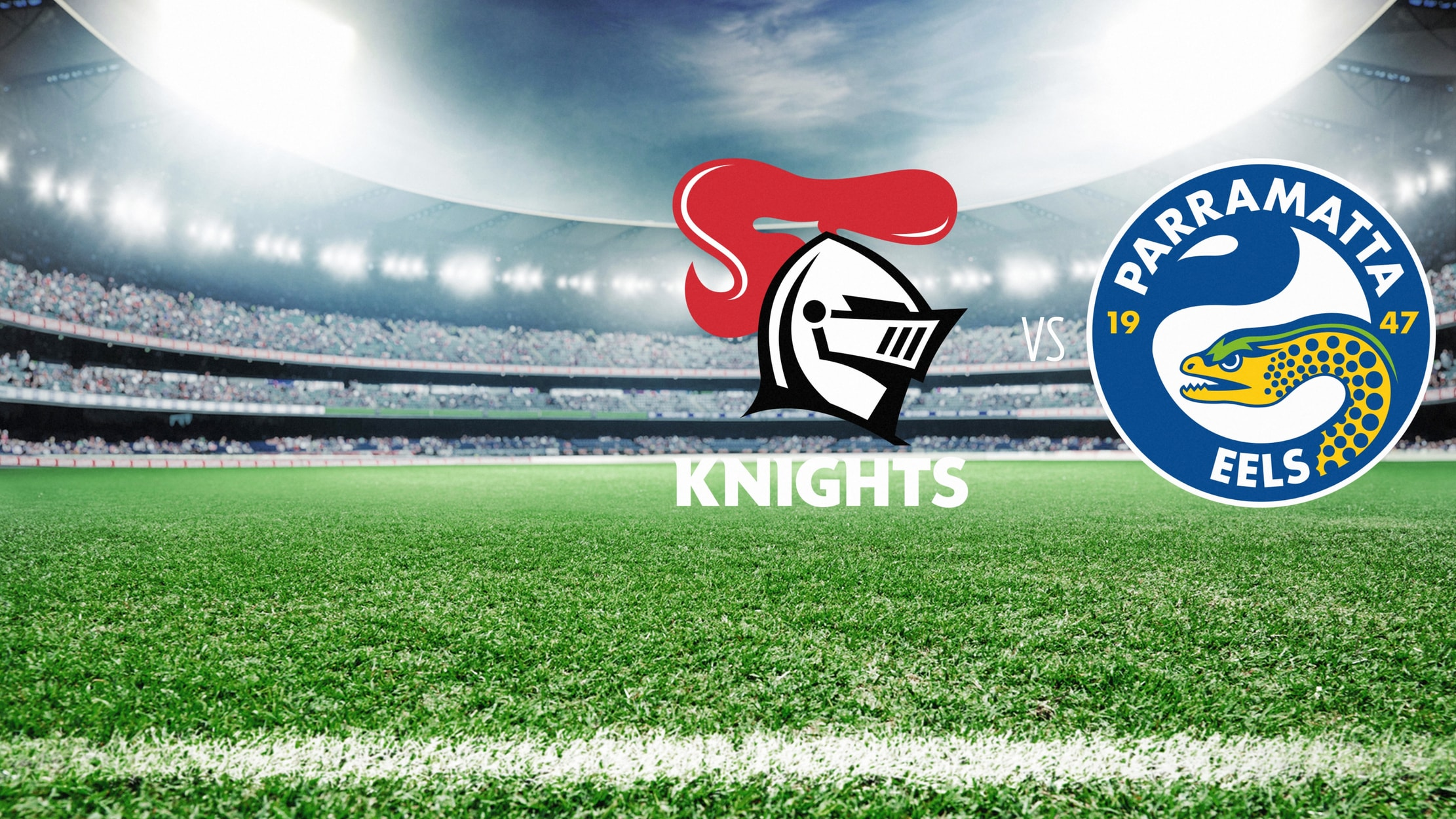NRL Rugby - Newcastle Knights at Parramatta Eels seriesDetail