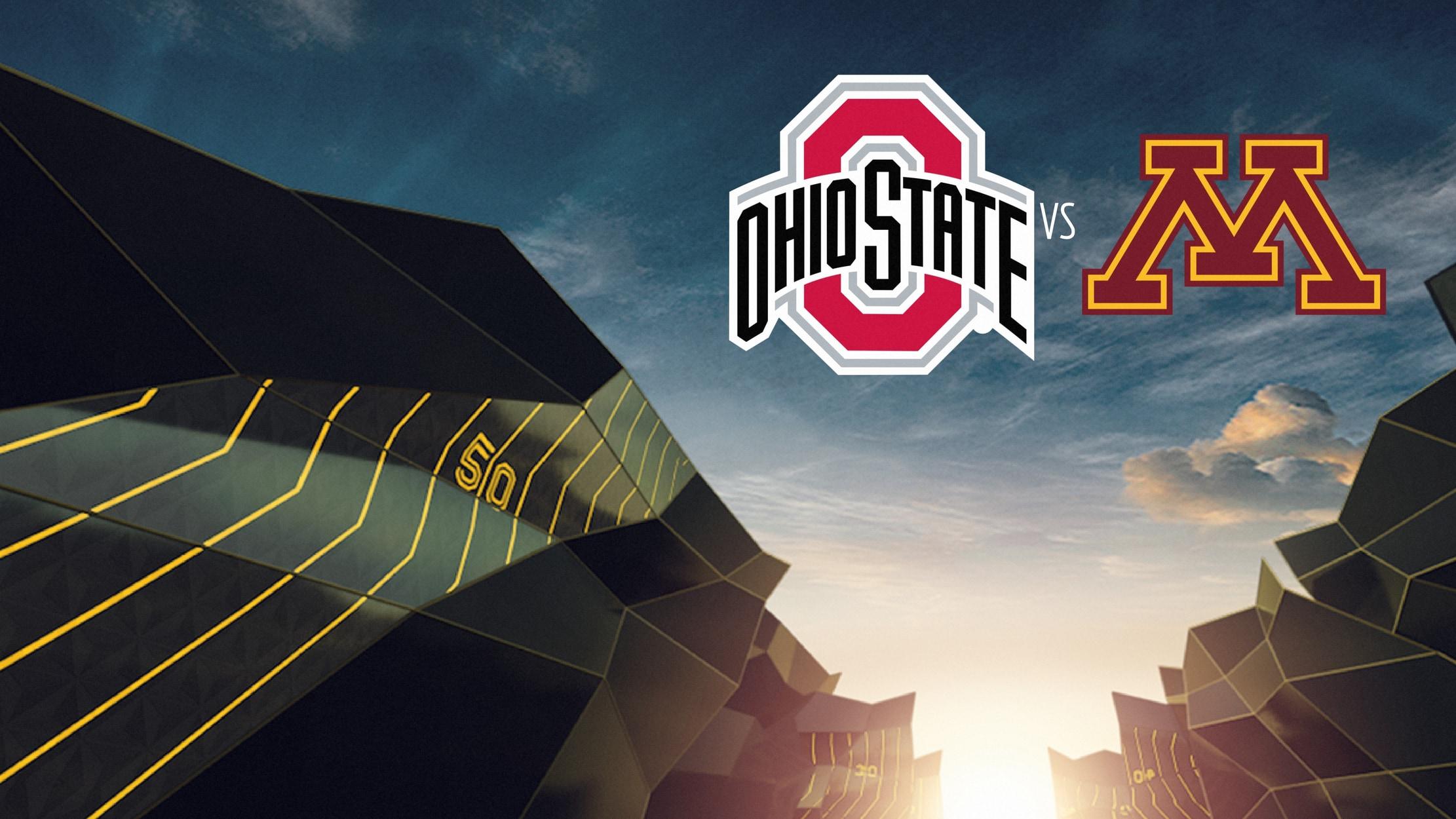 College Football - Ohio State at Minnesota seriesDetail