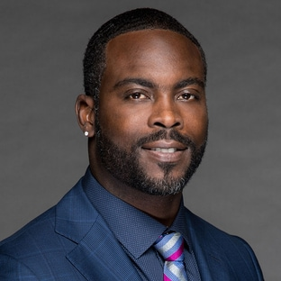 Actor Michael Vick FOX NFL Kickoff