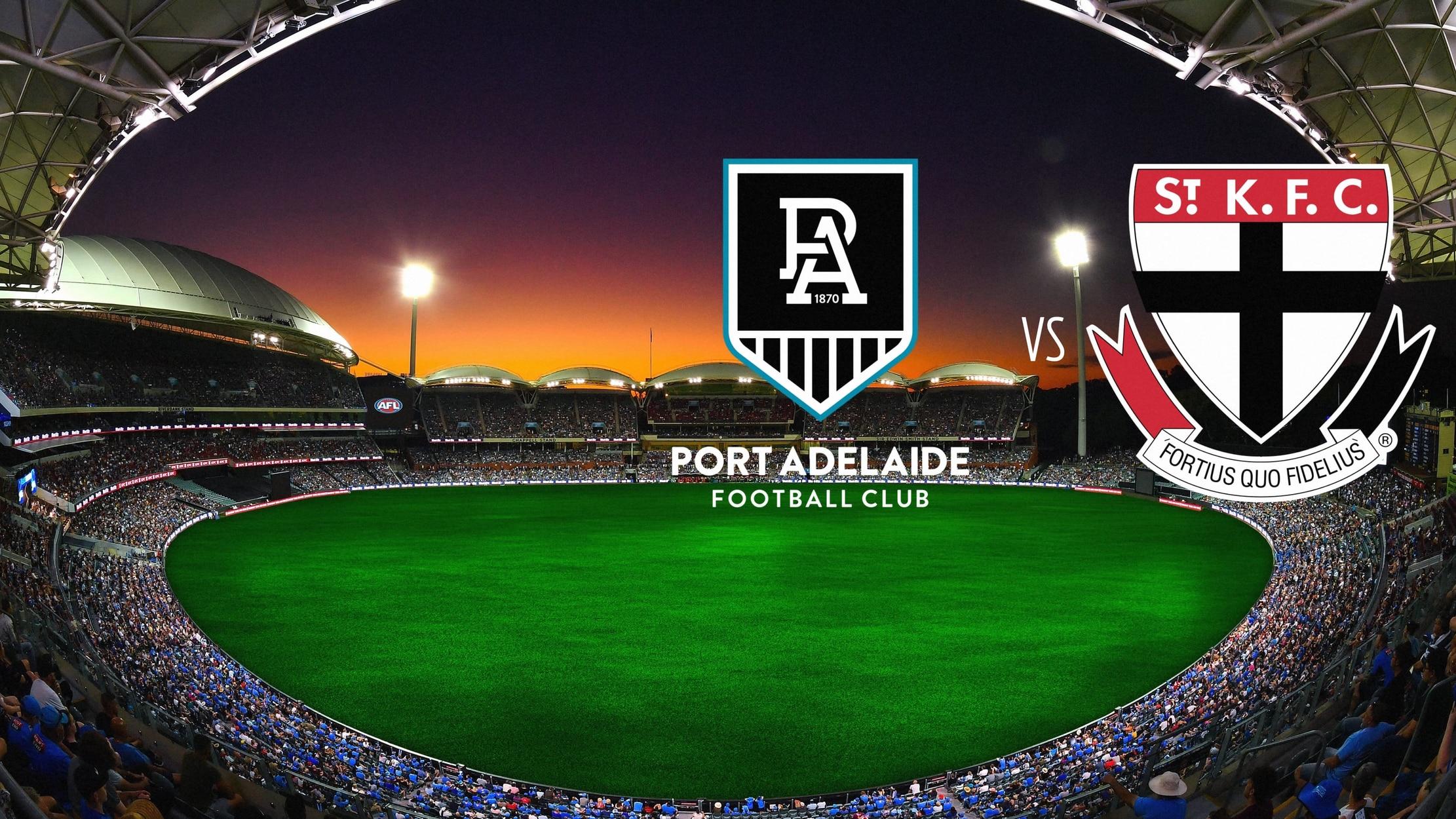 AFL Premiership Football - Port Adelaide Power vs. St. Kilda Saints