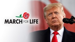 President Trump at the March for Life 2020
