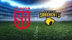 Major League Rugby - San Diego Legion at Houston SaberCats