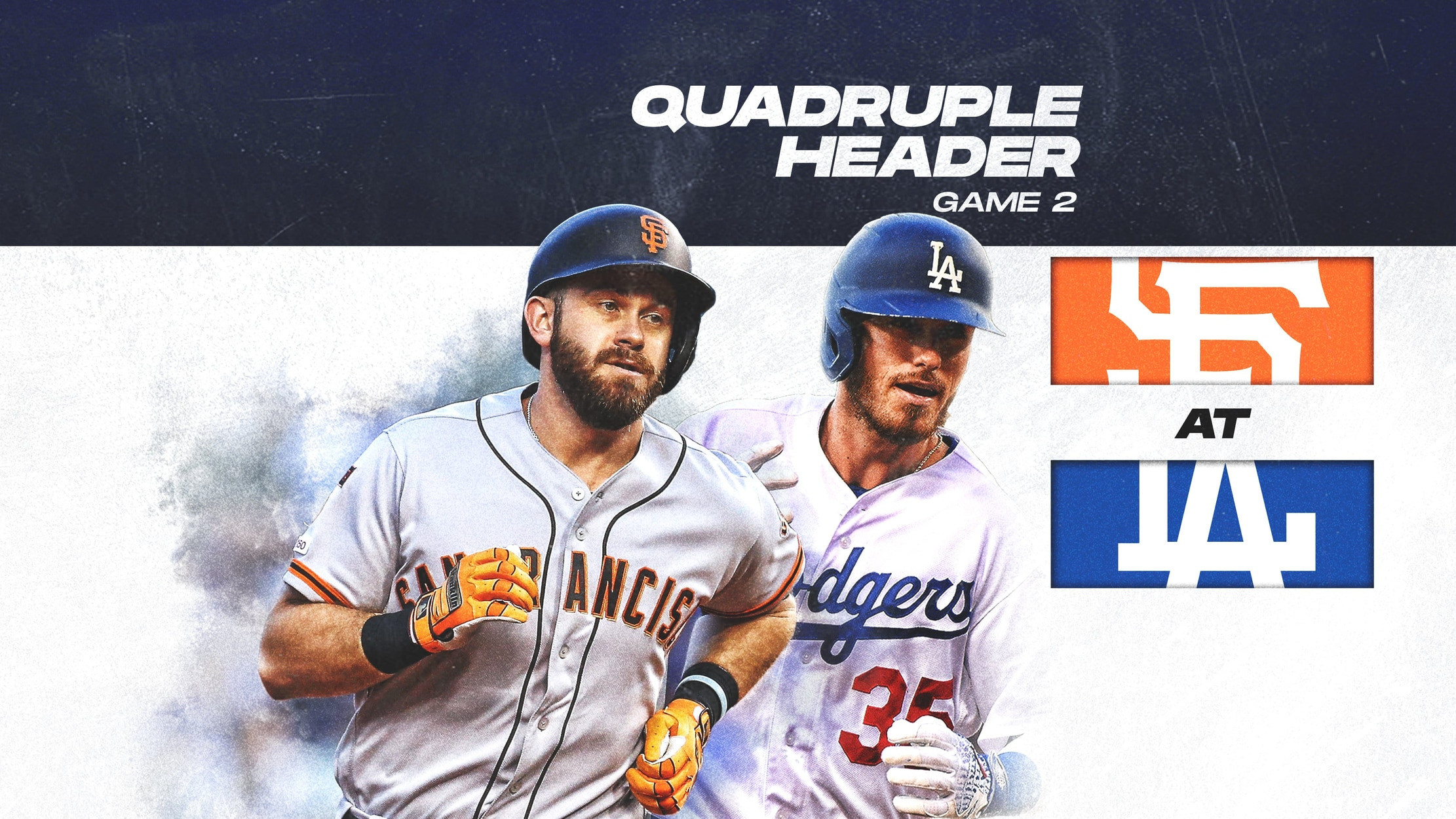 Giants at Dodgers