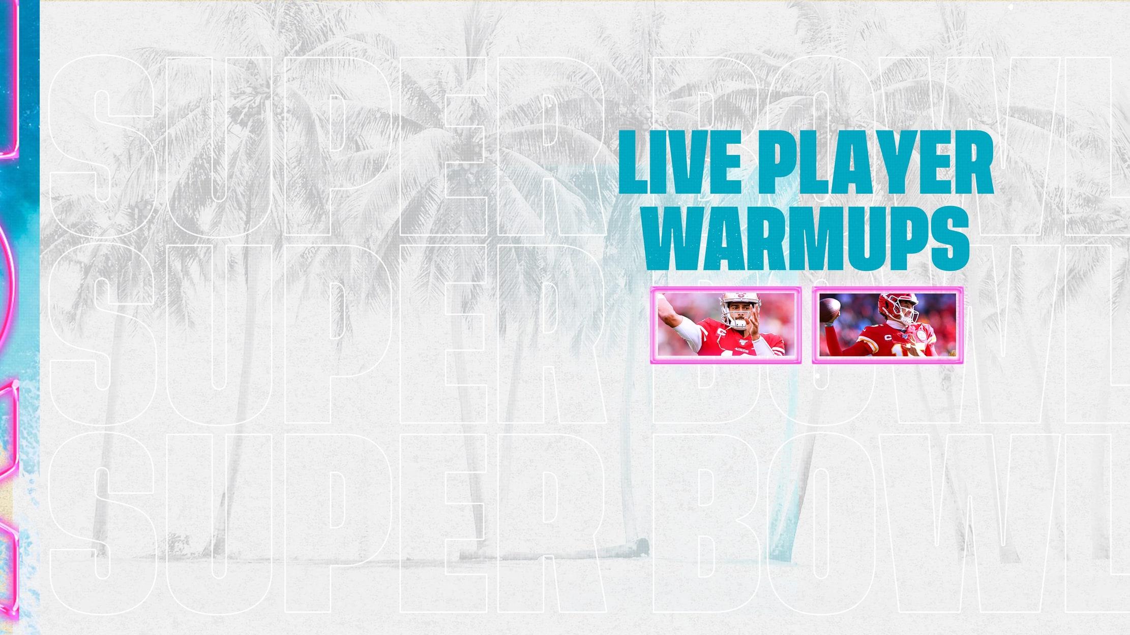 Live Player Warmups