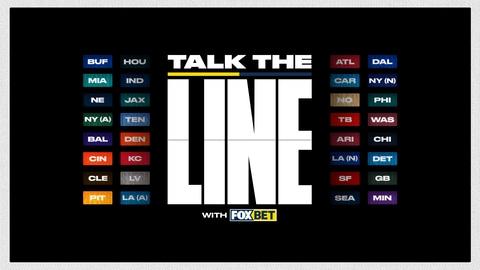 Week 7 Pro Football Line Movement Show