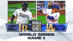 World Series Game 1: Rays at Dodgers